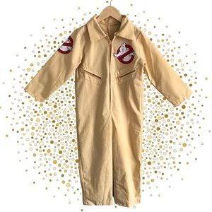Children's Ghostbusters Halloween Costume Full Outfit + Inflatable Proton Pack